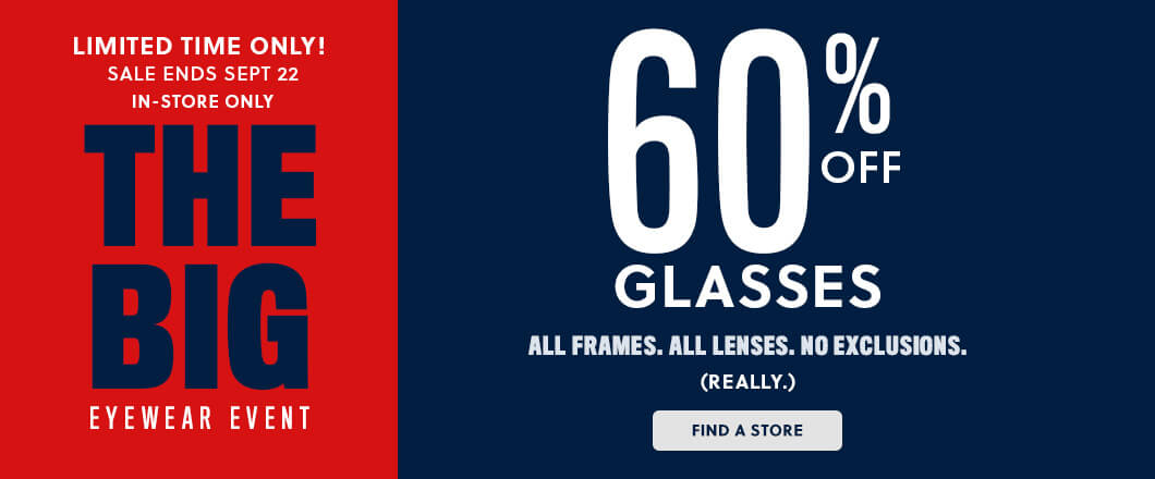 Glasses, Sunglasses, and Contact Lenses | Visionworks