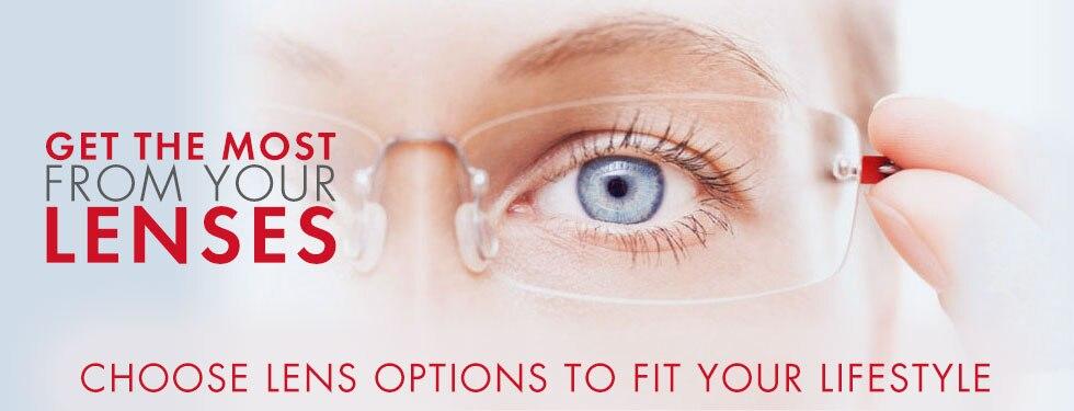 Prescription Lenses for Eyeglasses & Sunglasses | Visionworks